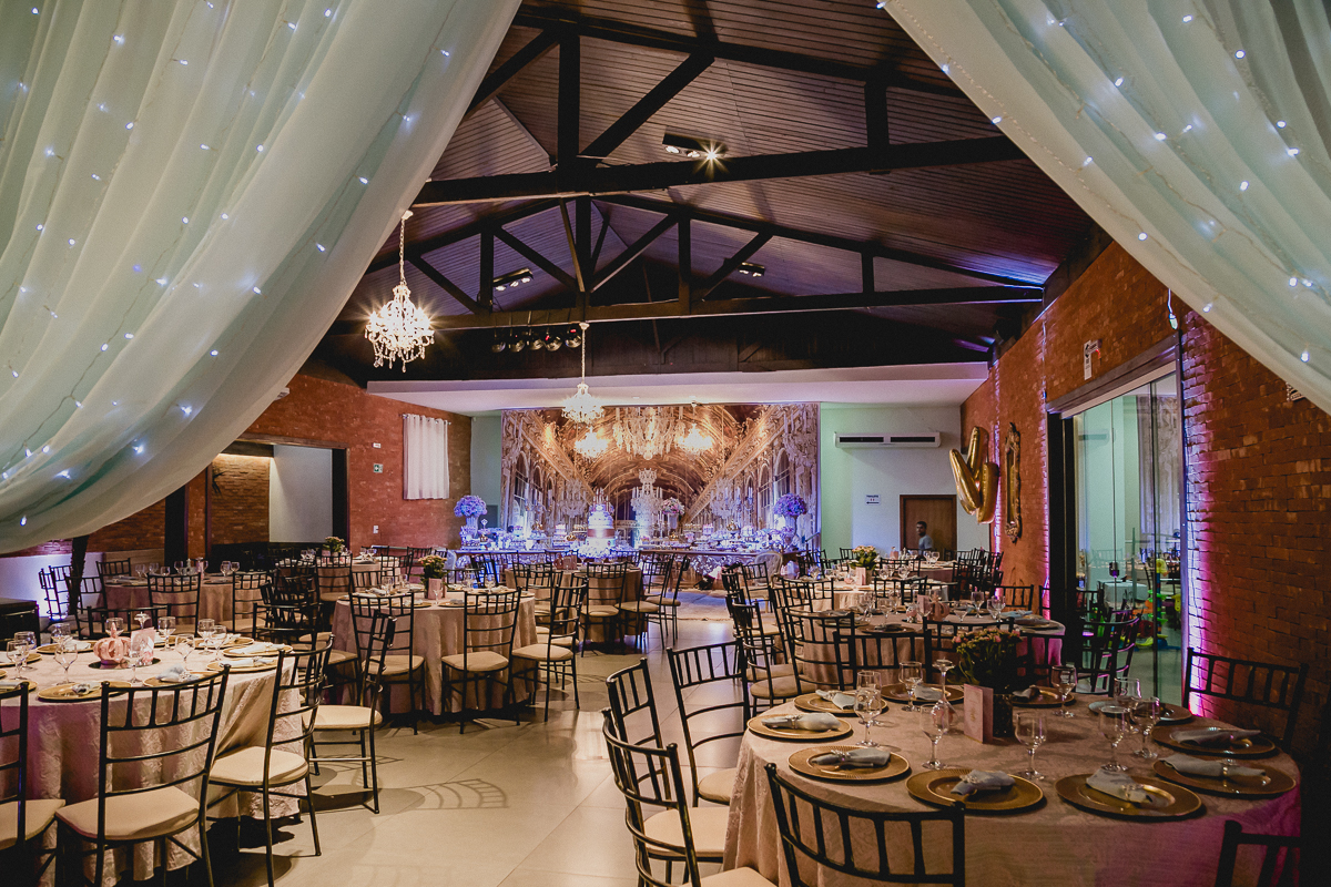 interior do buffet la vita festas localizado em campo grande mato grosso do sul ms
