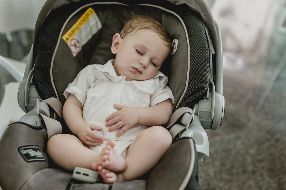Dormindo no final da festa