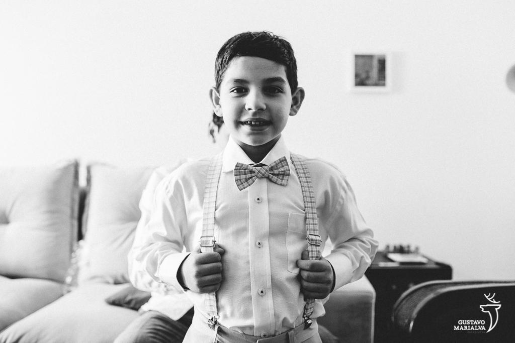 retrato do filho dos noivos