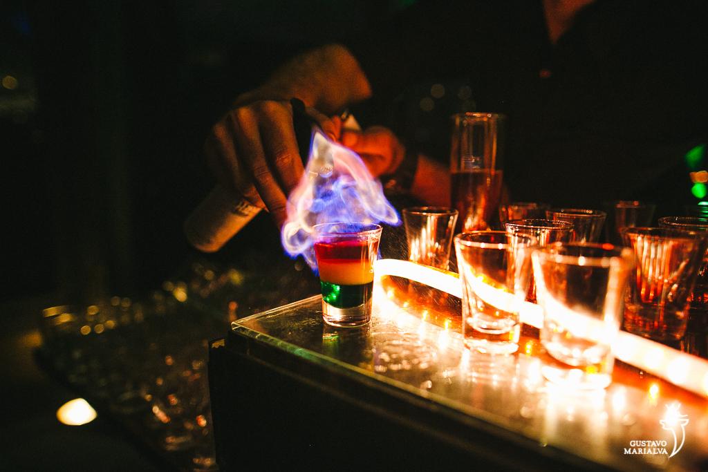drink com fogo