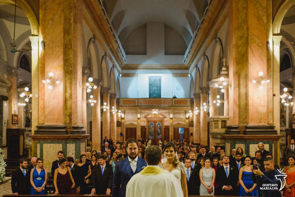 capela do colégio santo inicio lotada