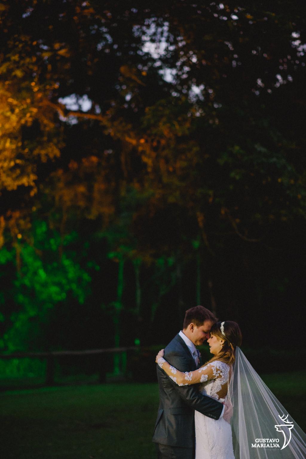 retrato dos noivos no casamento no lajedo