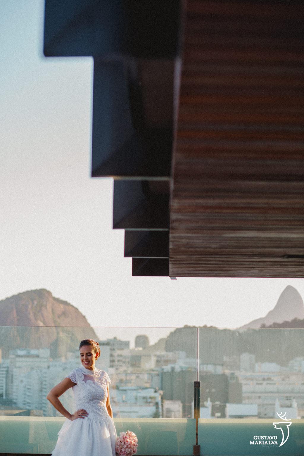 noiva posando para retrato no windsor hotel