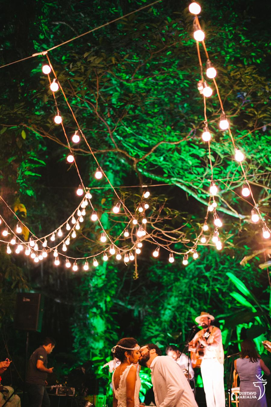 Xangai tocando na festa de casamento
