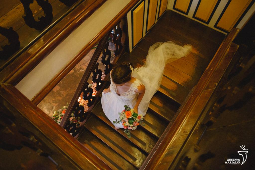 retrato da noiva na pousada do sandi em paraty