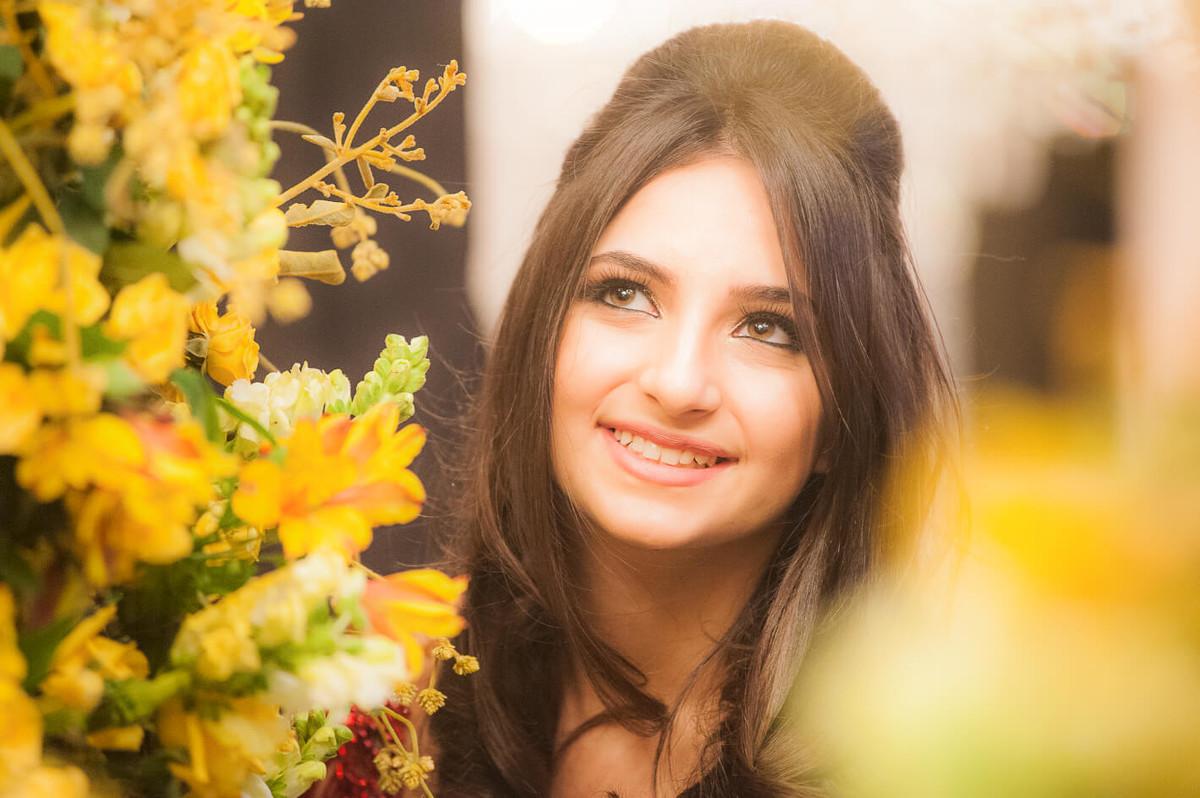 Adolescente em ensaio fotografico