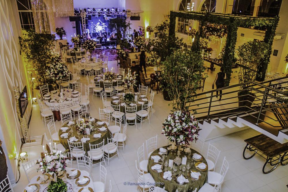 visao aerea com drone do salao de festas villa nobre eventos na cidade de americana sao paulo decorada pelo decorador de casamentos fernando reame