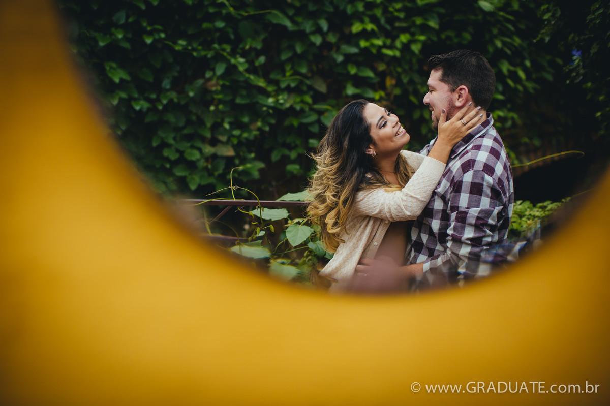Foto de Claudia e Vitor