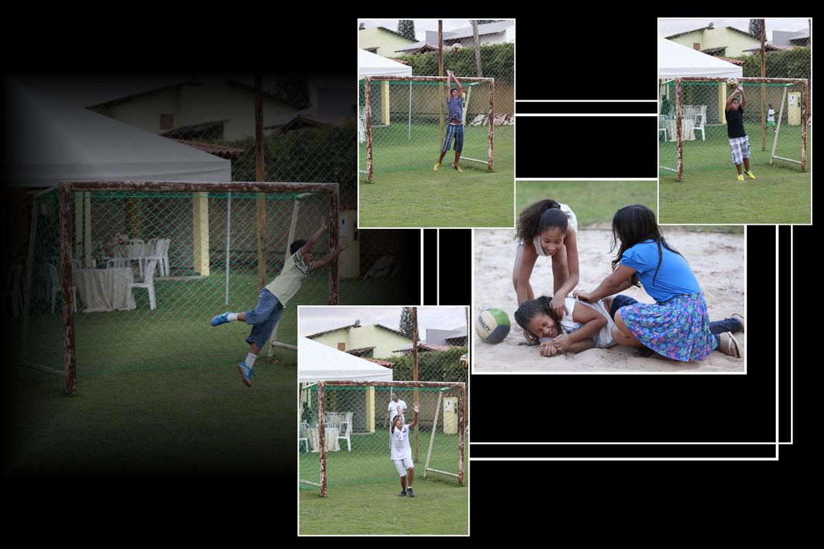 as brincadeira e esporte nessa festa foi um dos atrativos para a criancada e registrada pelo fotografo nico localizado na octogonal em brasilia