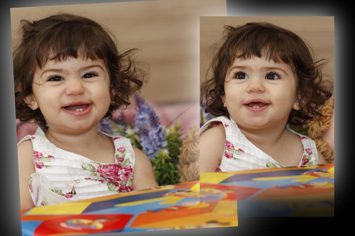 um sorriso lindo da crianca em sua festa infantil. parabens. tudo registrado pelo nico fotografo que possui um estudio no sudoeste na cidade de brasilia.