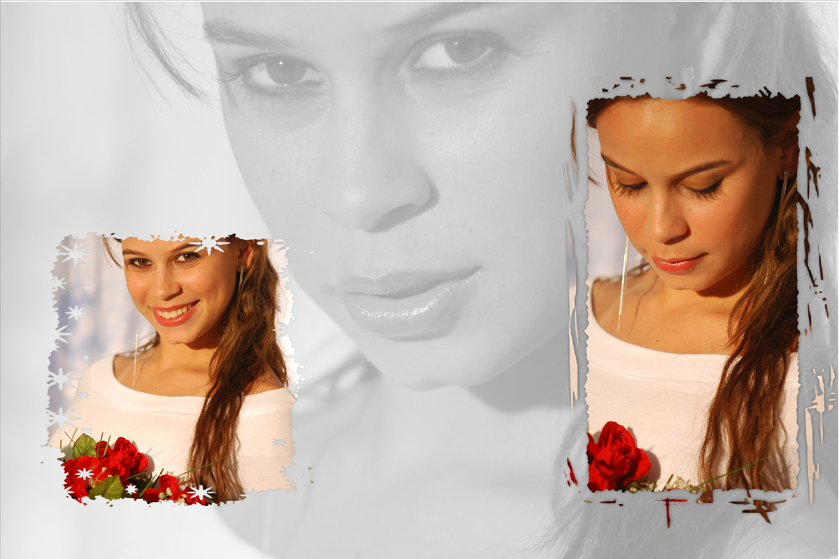 uma rosa para outra rosa, um olhar penetrante para a camera fotografica do fotografo nico em seu estudio fotografico localizado na octogonal em brasilia.