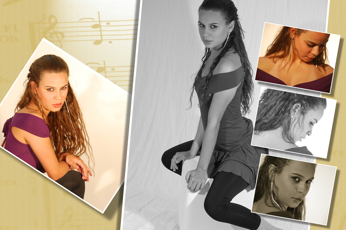 cada angulo e cada pose a modelo ditou as regras de como seria a sua sessao fotografica realiazada pelo fotografo nico.
