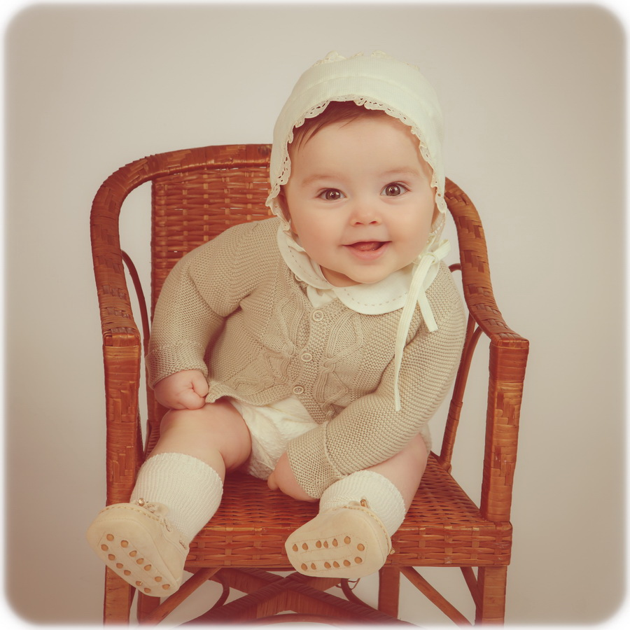fotografia de estúdio bebe batizado