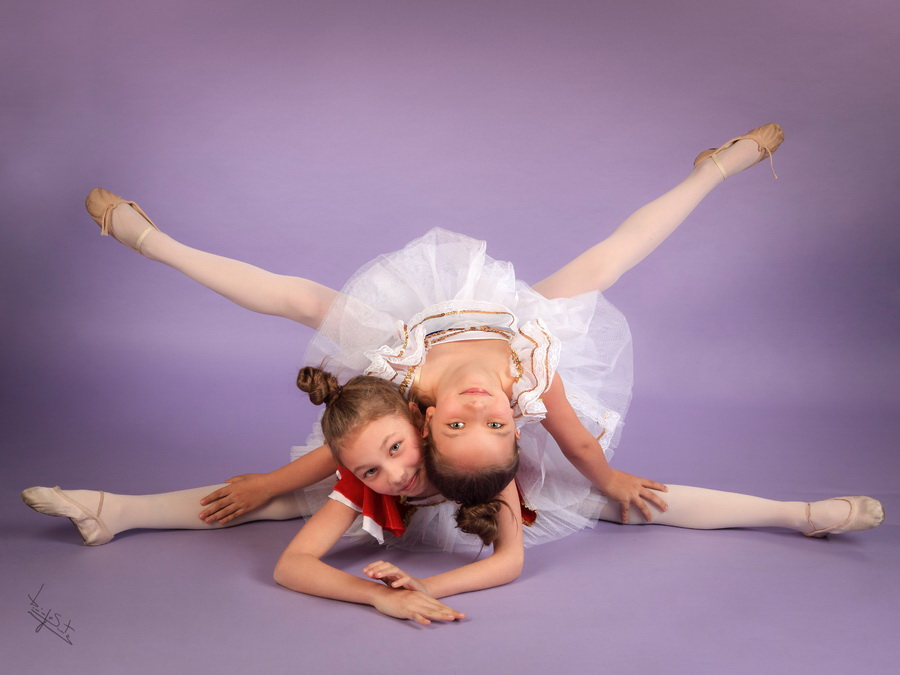 fotografia de estúdio balet