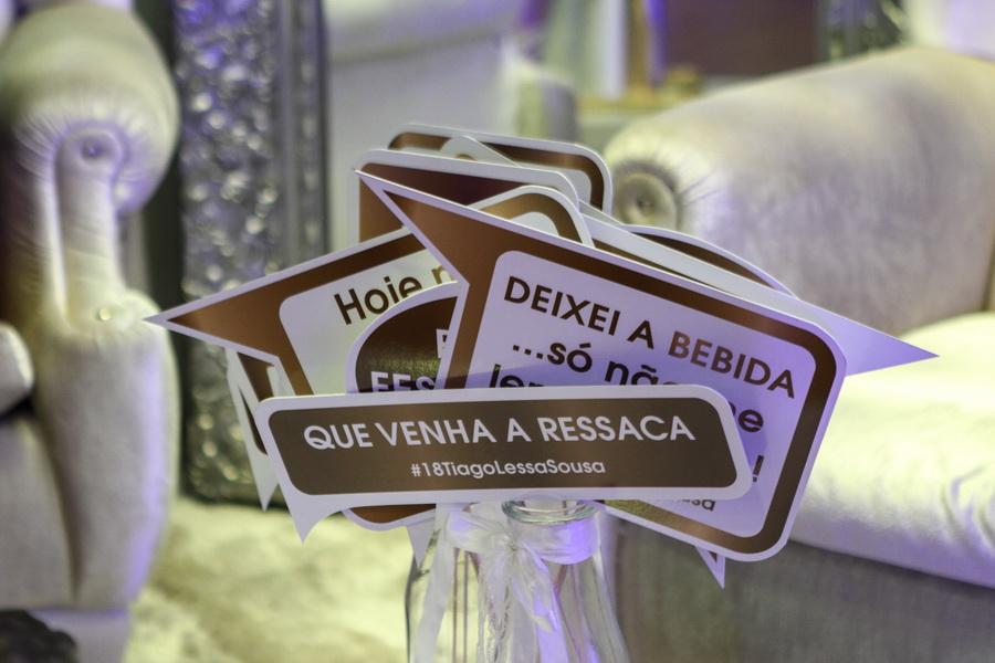 Placas para festa de aniversário - S. João da Madeira