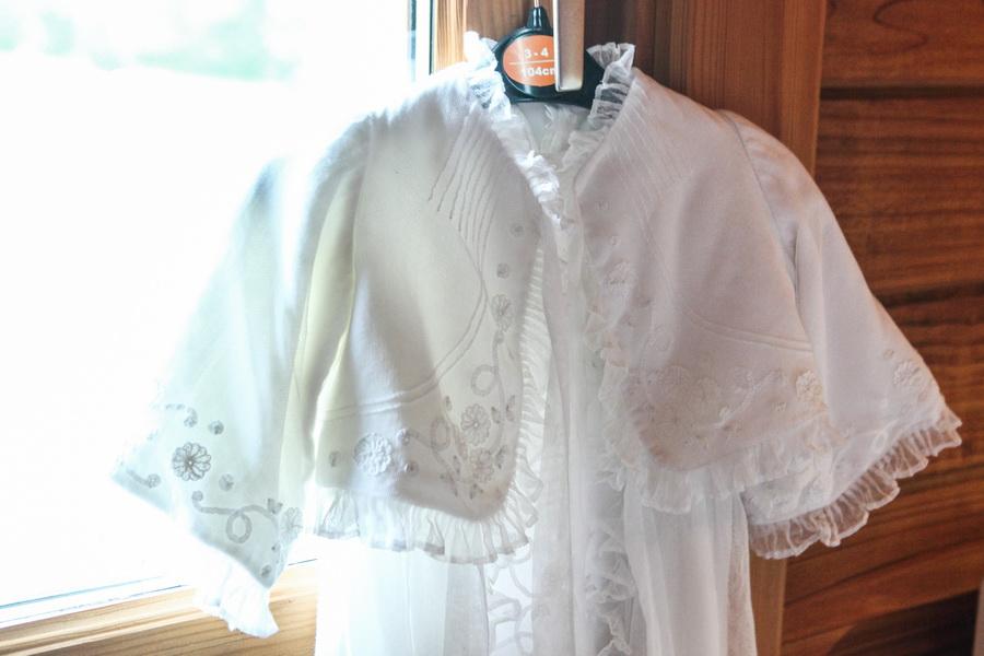 Pormenor de vestido de baptizado - S. Félix da Marinha