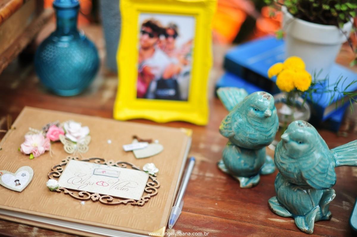 fotografia do making off da noiva para o casamento folk de dia na Barra da Tijuca RJ e decoração de casamento