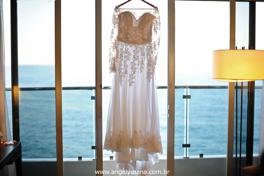 Fotografias de casamento do making off da noiva realizado no Sheraton Grand Rio Hotel
