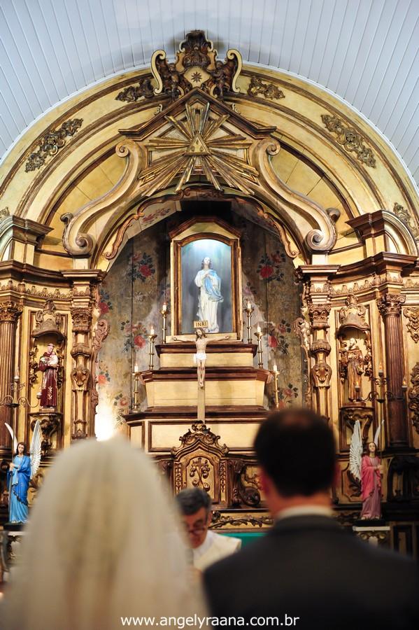 Cerimônia de casamento realizada na Capela Imperial Imaculada Conceição – Ilha do Governador
