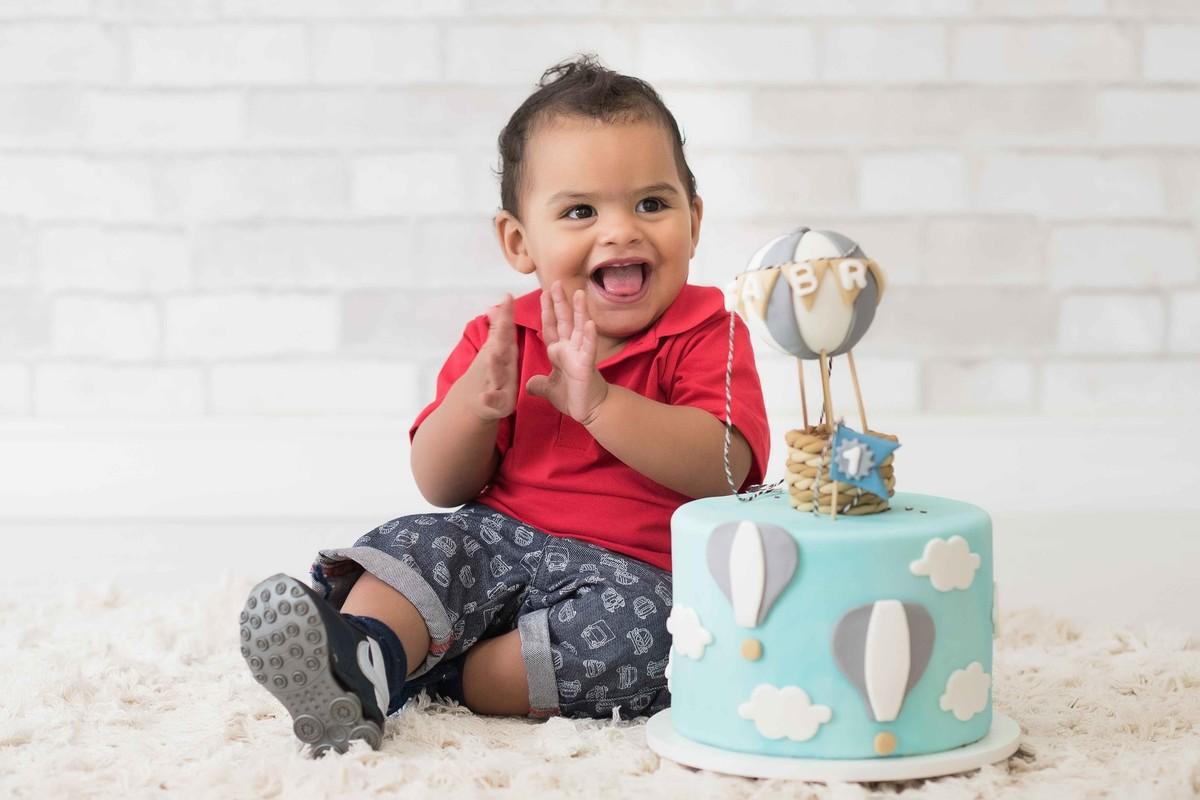 Ensaio fotográfico LIFE {Birthday} - Estúdio - Smash the Cake - Aniversário - 1 ano - estúdio