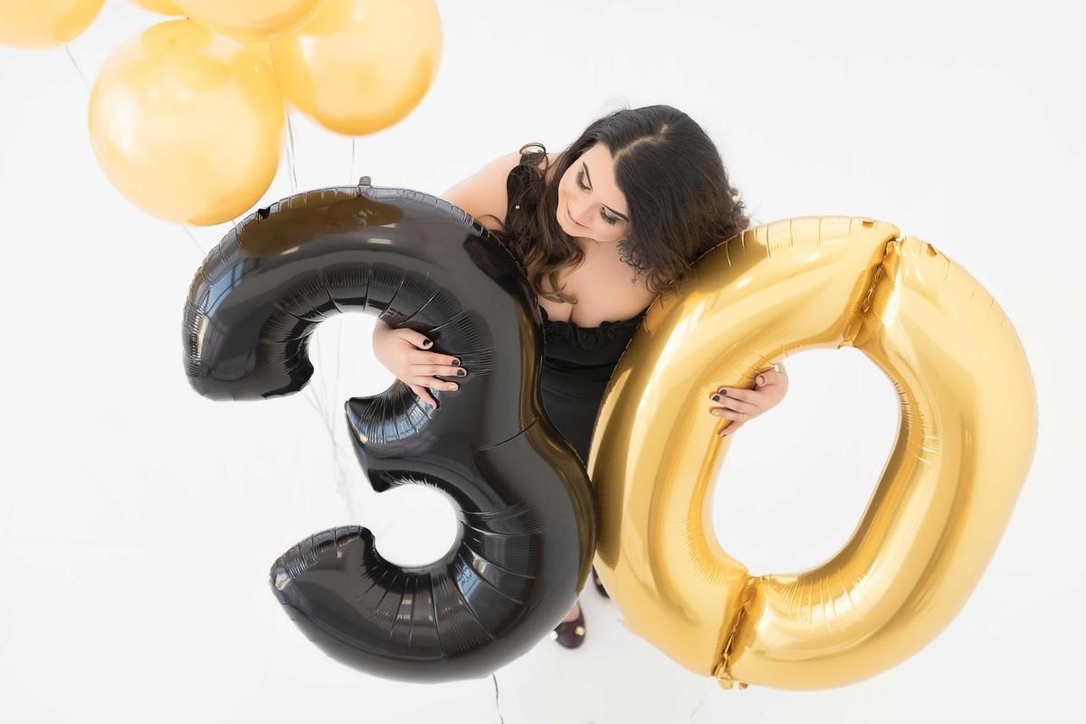 Ensaio fotográfico LIFE {Birthday} - Estúdio - Smash the Cake - Aniversário - 1 ano - estúdio - 30 anos