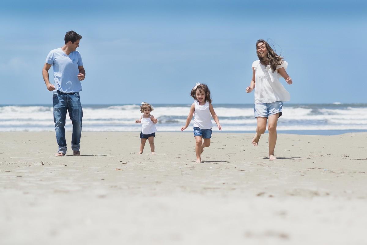 Ensaio Estúdio Life Familia - ensaio fotográfico família - praia
