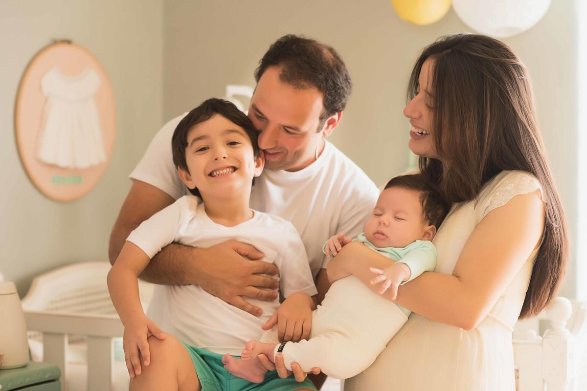Ensaio Estúdio Life Familia - ensaio fotográfico família - bebê
