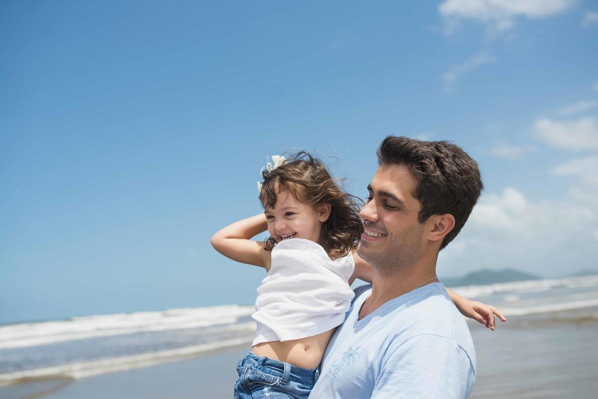 Ensaio Estúdio Life Familia - ensaio fotográfico família - pai