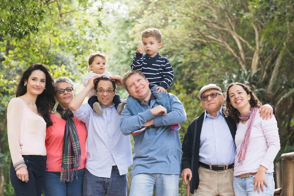 Ensaio Estúdio Life Familia - ensaio fotográfico família  - vovó