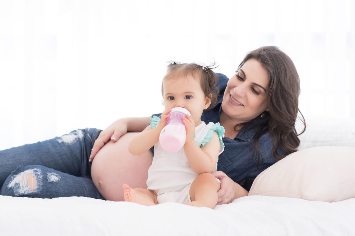 Ensaio LIFE {Maternity} - gestante - estúdio - São Paulo - bebê - criança