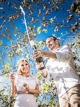 Pre Weddings de Ana e Daniel - Pre Wedding em Lago da Serra - Campo Alegre - SC