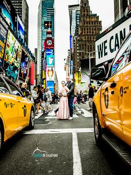 Trabalhos Internacionais de Ana e Jean - Pre wedding em New York - EUA