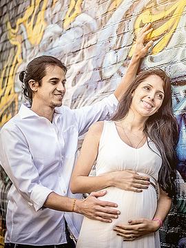 Pregnant de Marina + Hugo = Lorenzo em San Francisco - Califórnia - EUA
