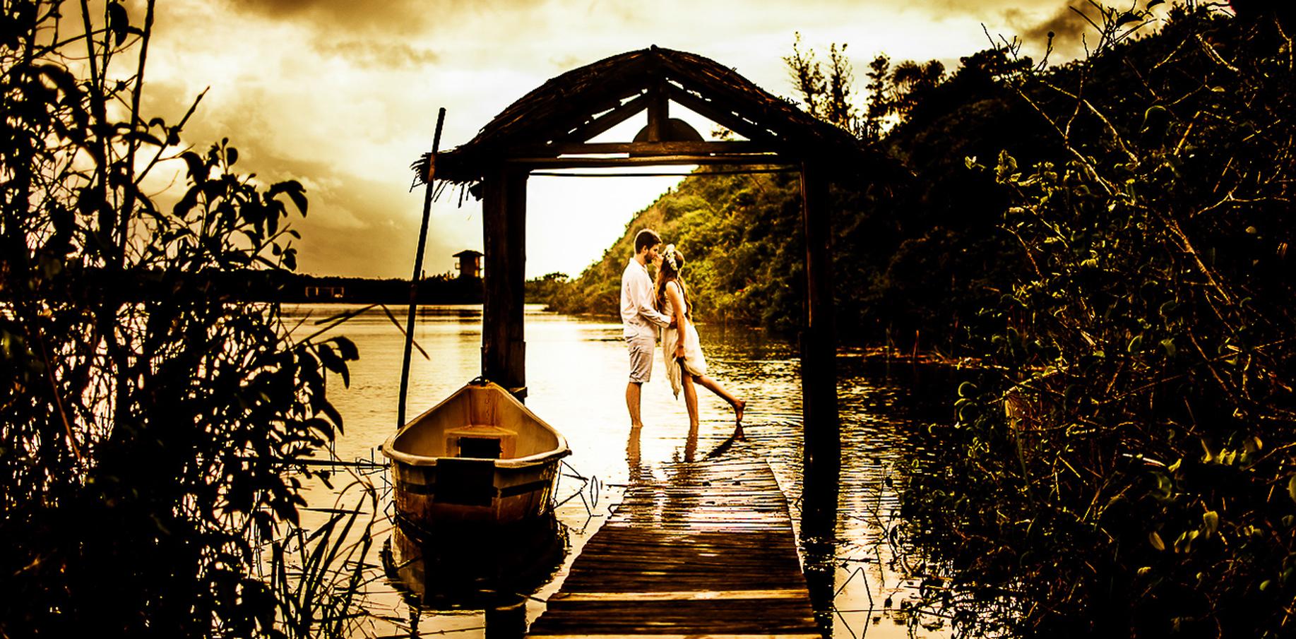 Pre Wedding de Jhenny e Andreas em Praia do Rosa - SC