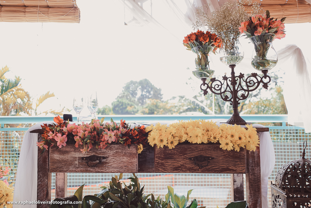 Flores da Cerimonia