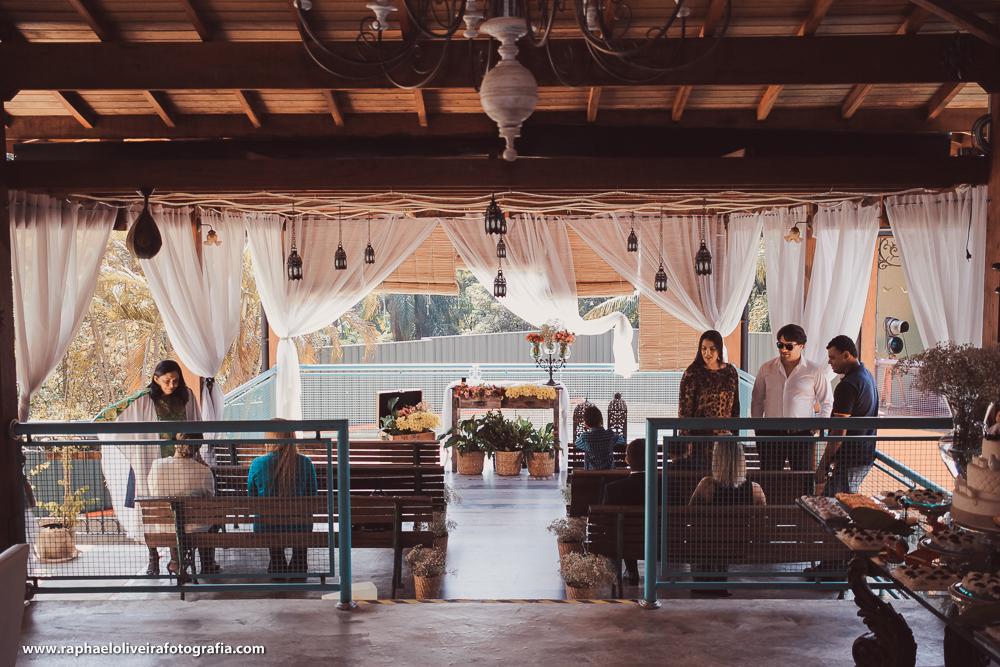 Espaço da cerimonia, restaurante Don Camillo na Granja viana - Cotia/SP