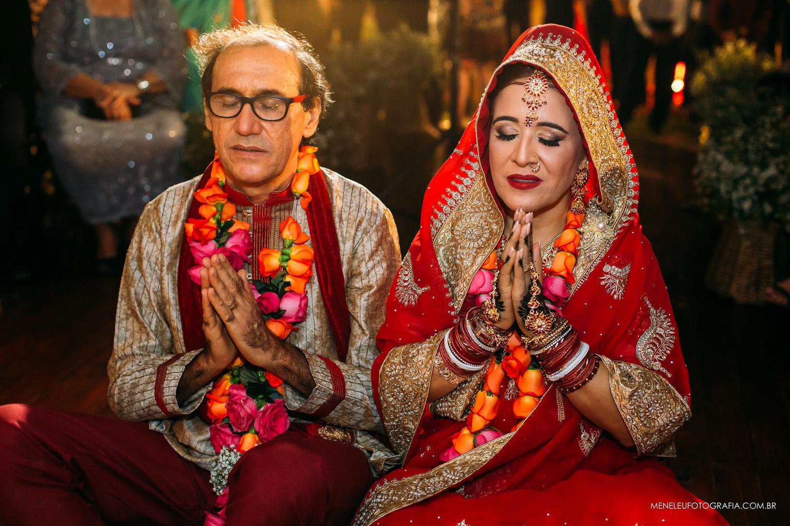 Imagem capa - Um casamento Indiano por Meneleu Santos Fotografia