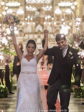 Casamento de Fernanda e Leonardo em Copacabana Palace, Igreja São Jose e Caza Blanca