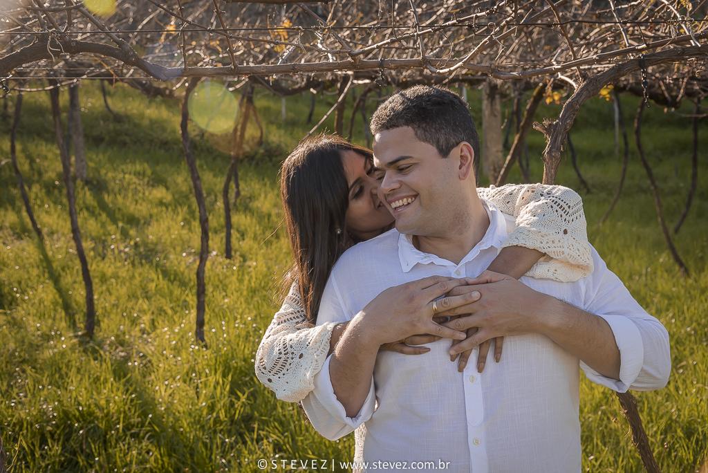 Foto de Crisla e Paulo