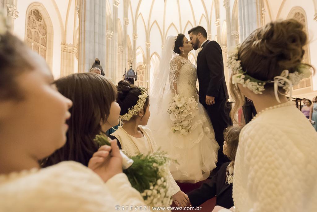 Foto de Caroline e Rogerio