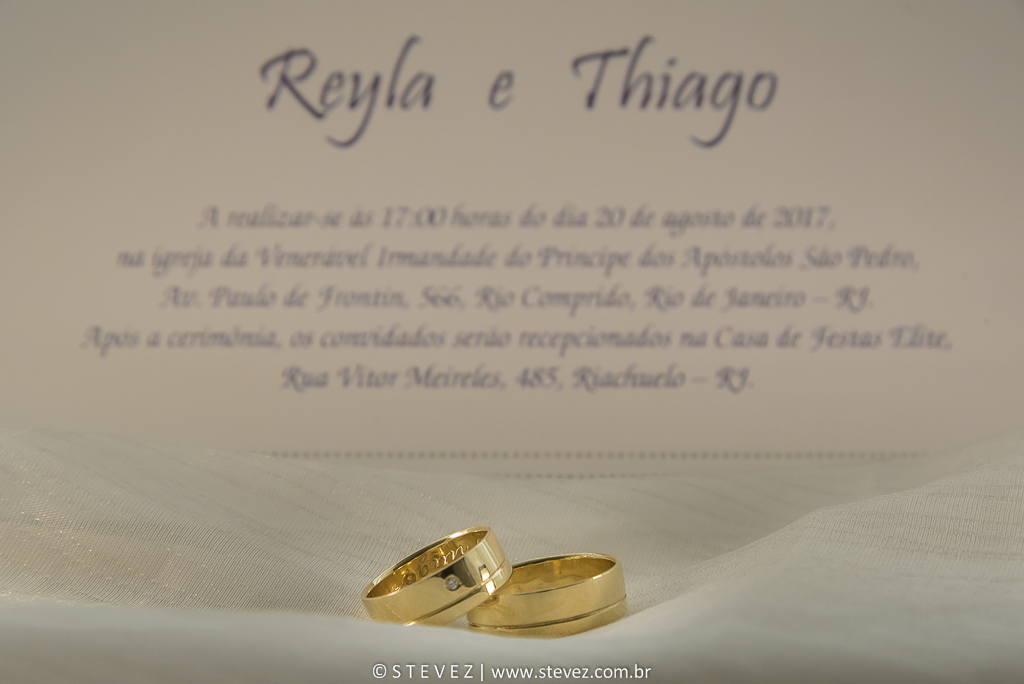 Foto de Reyla e Thiago