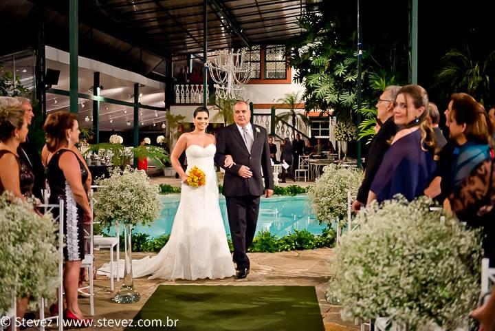 Foto de Marcela e Leandro