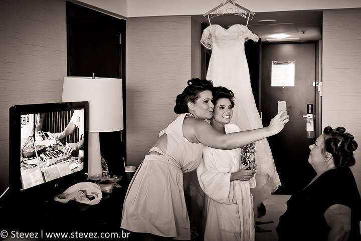Foto de Aline e Flavio