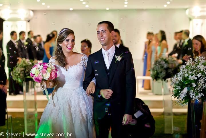 Foto de Flavia e Tiago