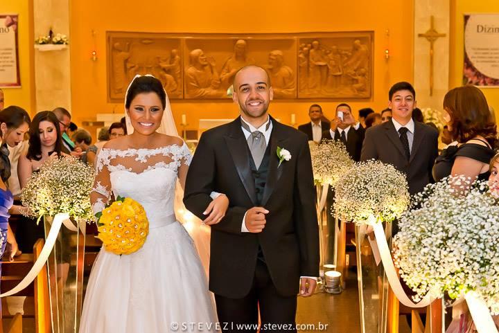 Foto de Larissa e Felipe