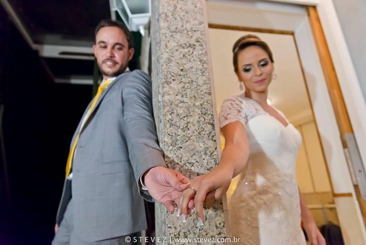 Foto de Bruna e Eduardo