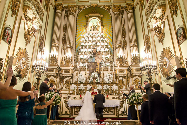 Foto de Cristiane e Antônio
