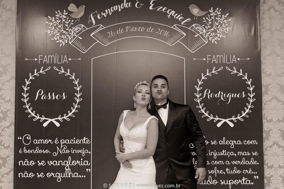 Foto de Fernanda e Ezequiel