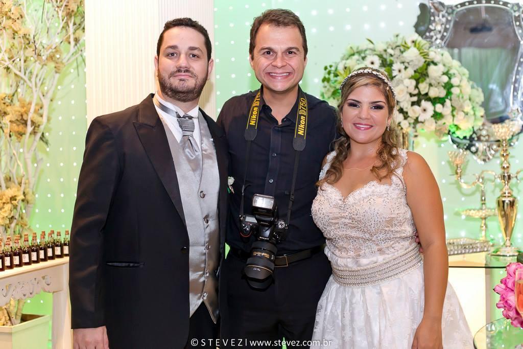 Foto de Liliane e Pedro