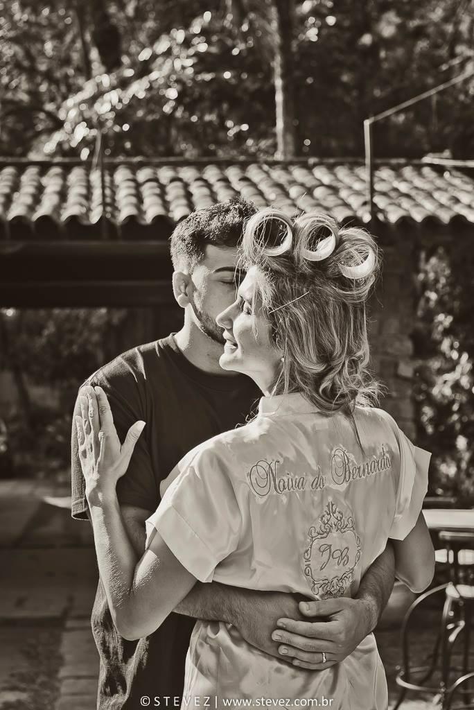 Foto de Juliana e Bernardo